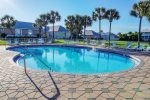 Enjoy the second pool. Near the clubhouse and tennis courts. Just steps away.