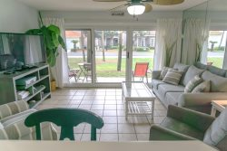 Perfect Patio Place. Ground Floor Convenience. Pet Friendly Too! Maravilla 4109.