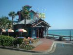 A Short 3 Block Walk to Famous Pompano Joes Beach Restaurant