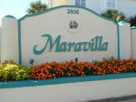 Easy to Find Maravilla Entrance on Scenic Gulf Drive