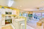 Enjoy the Spacious Living Room with Flat Screen TV
