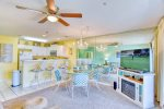 Enjoy the Elegance of a Bistro-style Table on the Balcony