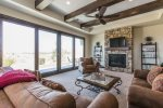 Living Room With Spectacular Views Overlooking The 4th Hole on Coral Canyon Golf Course
