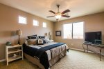 Master Bedroom - King Bed and HD Flat Screen TV