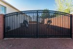 Gated Side Yard