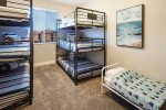 Suite 6 - 2 Sets of Twin Over Full Bunk Beds