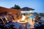Private sports court, Pool, spa, Fire pit