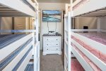 Tri- Twin Bunkbeds in Guest Bedroom 2