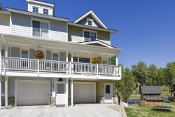 Pagosa Riviera is a beautiful, riverfront condo, overlooking the San Juan River.