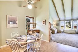 Aspenwood 4262 is a conveniently located studio vacation condo around the corner from the Pagosa Golf Club.
