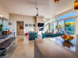Kitchen, Living and Dining Areas