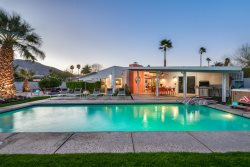 A FUN THROWBACK TO MID-CENTURY PALM SPRINGS AND ITS LIFESTYLE!