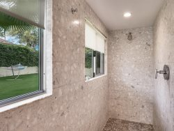 Master Shower Privacy or taking in the views, your choice