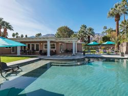 AMAZING OUTDOOR LIVING AND UNOBSTRUCTED VIEWS. THE IDEAL PALM SPRINGS RETREAT.