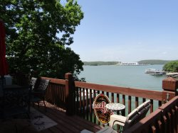 Beautiful lakefront home with a view for miles!! Only two steps entering the front door from parking!