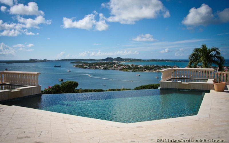 Villa Les Jardins de Bellevue   Luxury Vacation Rentals   St Maarten ...