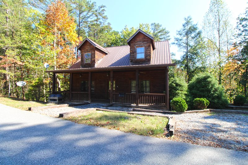 Luxury Log Cabin Close To Bryson City And Cherokee Nc