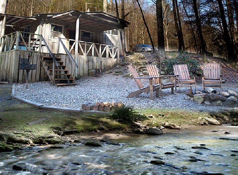 Cottage On Creek Near Beautiful Bryson City