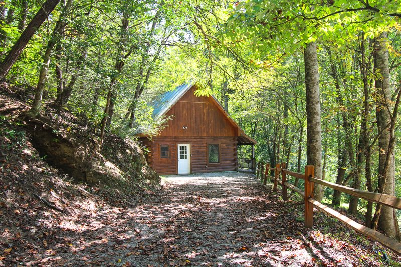 Two Bedroom Log Cabin Near Bryson City And Cherokee Nc