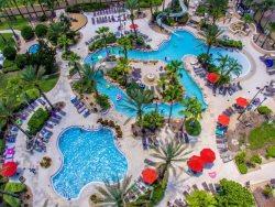 Stunning 4 bedroom townhome at Luxury Resort near Disney