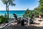Outdoor Sitting Area leading to Gorgeous Lake Michigan Views
