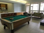 Lower Level Family Room with pool table