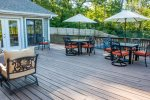 Deck with ample seating