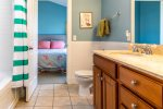 Upstairs Jack and Jill Bathroom