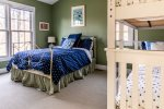 Upstairs Bedroom with Bunk Bed with Trundle & Full Bed