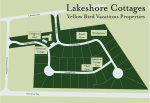 Lakeshore Cottages Map