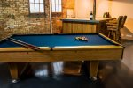 Entertainment Room with Pool Table and Bar