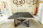 Ping Pong Table off of Potting Shed