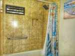 Upgraded tile in shower