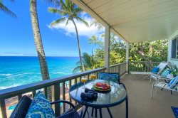 Poipu Palms 204, Ocean Front, One Step Up to the Front Door