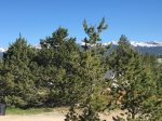 Panoramic points are peaking through the Pines from the porch.