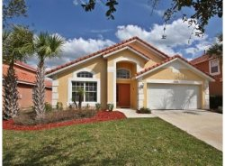 Stay in this family-friendly 4 bedroom vacation pool home 10 miles to Walt Disney World.