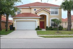 Enjoy spacious living and 5 bedrooms in this beautiful Aviana Resort Orlando pool home.