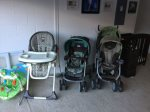 everything your baby needs, highchair stroller, crib