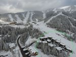 Whitefish Mountain Slopeside Aerial view. You are right next to the run