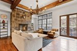 large spacious kitchen with ample storage