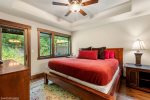 Master Bedroom has a private bathroom with gorgeous tile shower