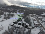 153 Winter at Slopeside aerial view.