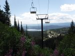 Take a summertime ride on the ski lift