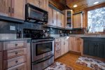 Fully equipped kitchen for your convenience