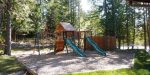 A summer playground for the kids at Ptarmigan Village