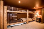 Bunk room with plenty of room to lay your head