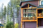 Wood Run Cottage located on the beautiful Whitefish Mountain Resort. Fun summer activities and world class skiing in the winter.