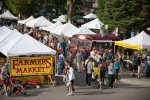 Enjoy the farmers market every Tuesday from June to September.