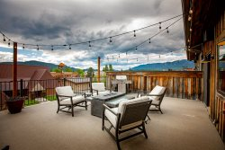 Cana Lofts 302 Penthouse in Heart of Downtown Whitefish! 2BD 2BA w/ 500sqft Balcony overlooking downtown!