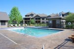 Monterra Resort has a pool and hot tub for your enjoyment during summer months